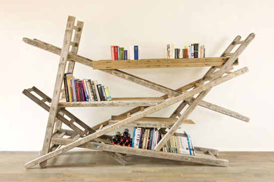 35 Unique Bookshelves inspiration