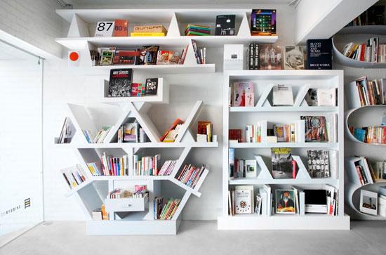 28 Unique Bookshelves inspiration