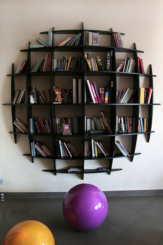 14 Unique Bookshelves Inspiration