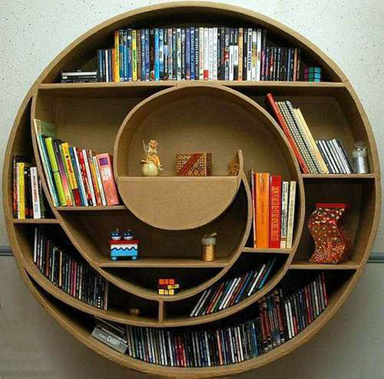 8 Unique Bookshelves inspiration