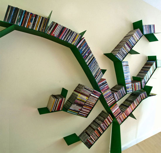 Outstanding Cool And Unique Bookshelves Designs For Inspiration Largest Home Design Picture Inspirations Pitcheantrous