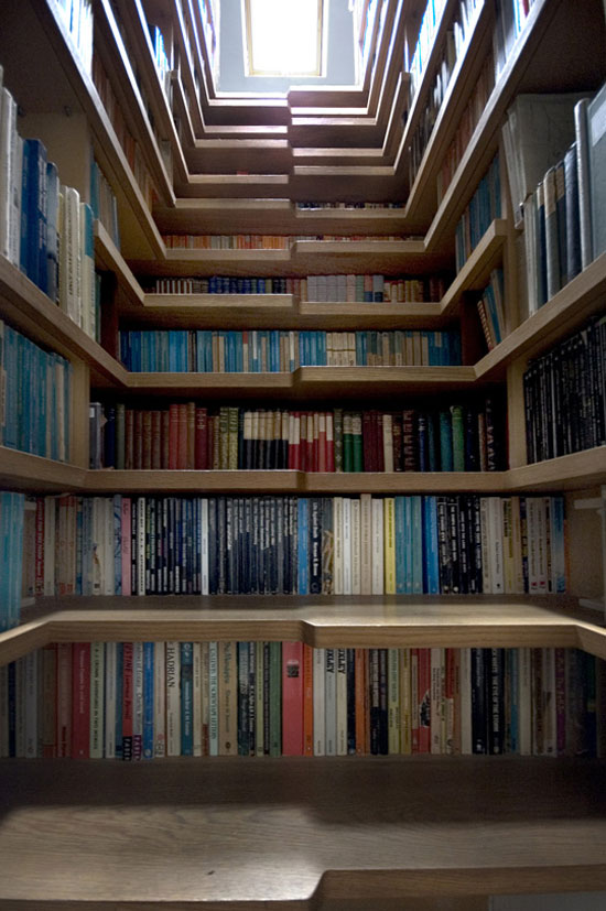 4 Unique Bookshelves inspiration