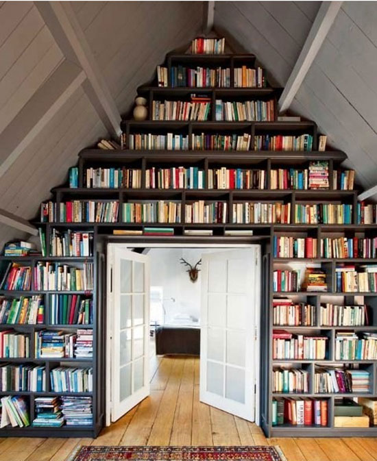bookshelf5 Cool Bookshelves: 40 Unique Bookshelf Design Ideas