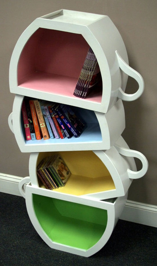 17 Unique Bookshelves inspiration