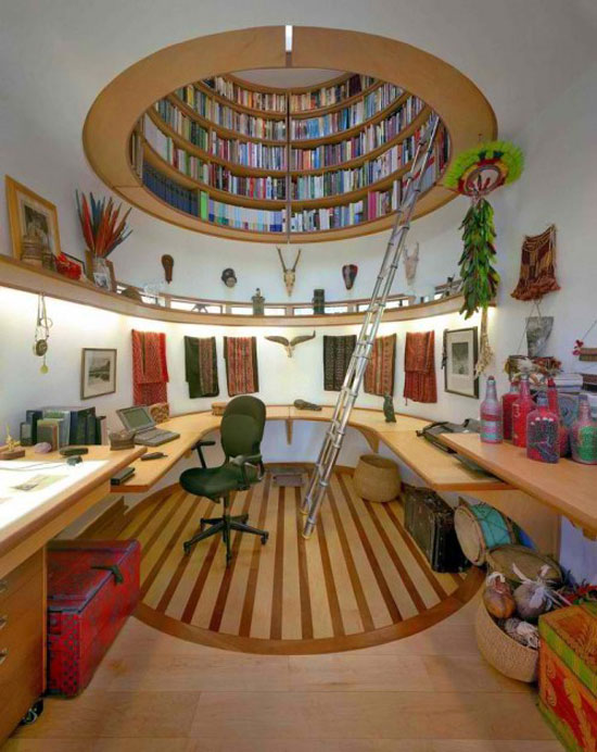 Awesome Bookshelf8 Cool And Unique Bookshelves Designs For Inspiration