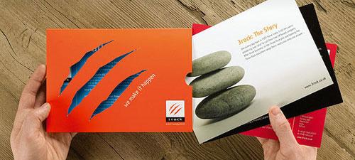 3rock-Corporate-Brochure Folleto Inspiración de diseño (64 ejemplos modernos de folletos)