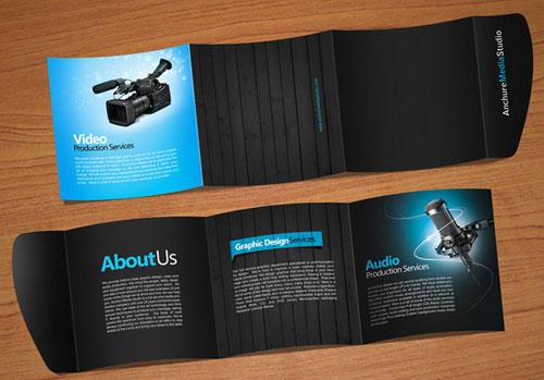 anchure brochure brochure design inspiration 64 modern brochure examples
