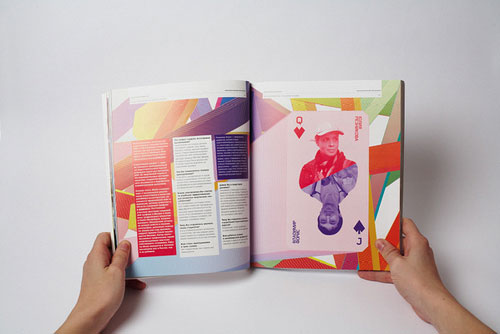 British High School of Art and Design Brochure Print Inspiration