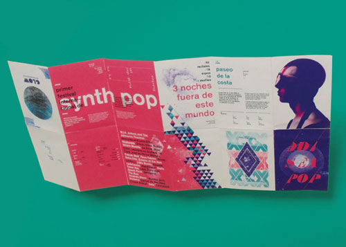 Festival-Brochure Brochure Design Inspiration (64 ejemplos modernos de folletos)