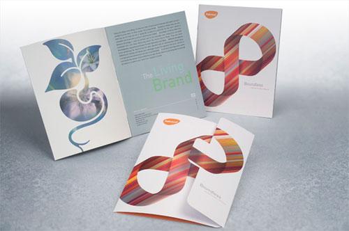 Rebrand --- Folleto Folleto Inspiración de diseño (64 ejemplos de folletos modernos)