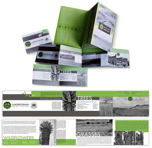 Suikerbosrand brochure design Print Inspiration