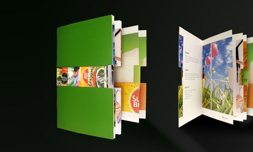 Unicer Corporate Brochure Print Inspiration