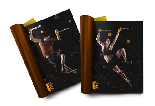 Inspiración del diseño del folleto Vertex (64 ejemplos del folleto moderno)