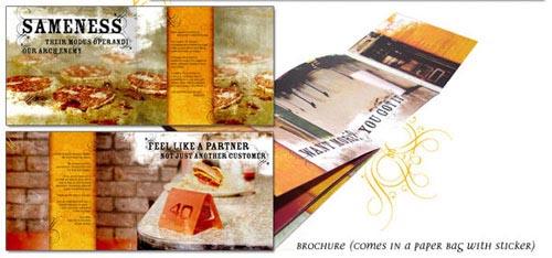 más Inspiración del diseño del folleto AMARILLO (64 ejemplos del folleto moderno)