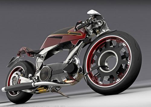 Naked bike concept design