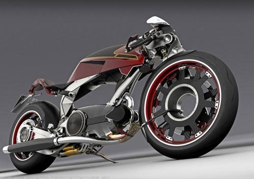 Naked bike concept design