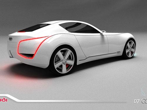 Audi D7 Concept design