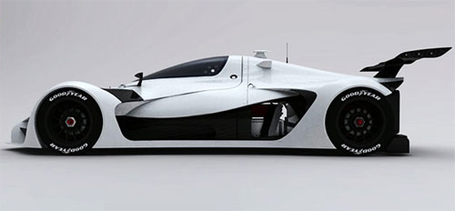 GreenGT Concept Car design 2