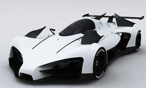 GreenGT Concept Car design 1