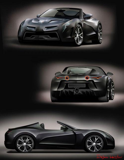 Pontiac Solstice Concept design