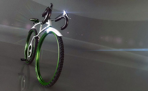 Foldable bike concept design