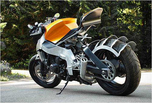 Honda CBR 1000F Custom concept design