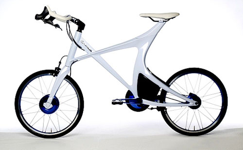 Lexus Hybrid Bicycle Concept design