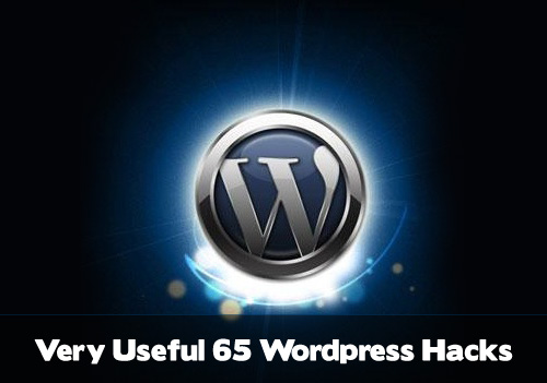 Very Useful 65 WordPress Hacks
