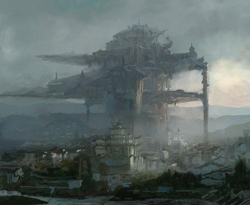 Concept art castle