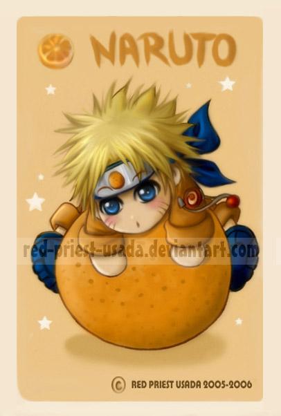 Chibi Fruit Ninja Naruto