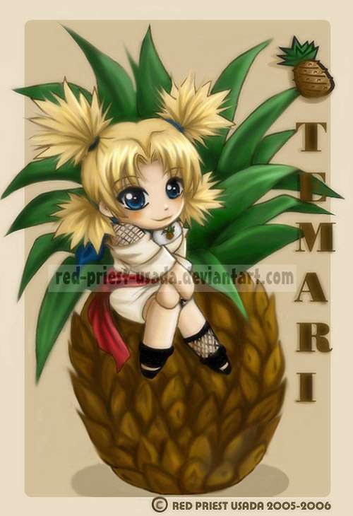 Chibi Fruit Ninja - Temari