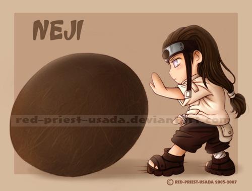 Chibi Fruit Ninja Neji