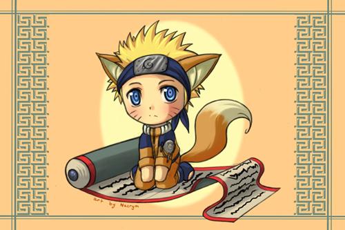 Naruto: Chibi Kitsu - Naruto