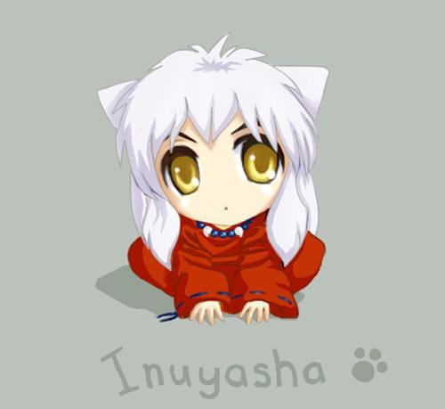 Sitting Inuyasha