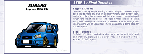 Chibi Car - Colouring Tutorial