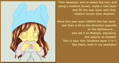 Chibi Hair Tutorial