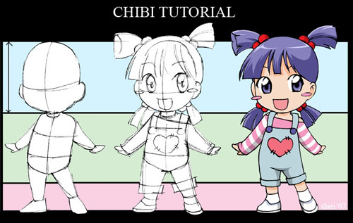 How to draw chibi 33 drawing tutorials to make you an expert chibitutorialbynekoshiei how to draw chibi 33 drawing tutorials ccuart Choice Image