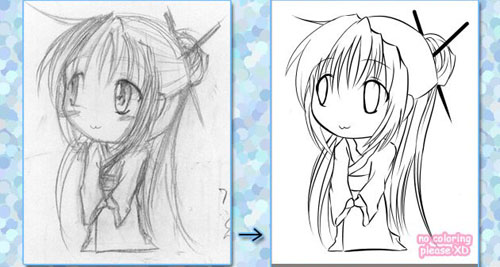 Chibilineart tut how to draw chibi 33 drawing tutorials