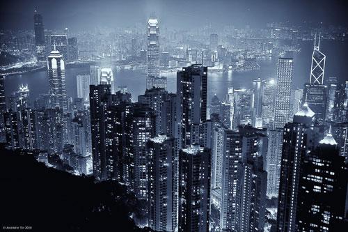 Hong Kong Skyline Wallpaper. energize hong kong Cityscape