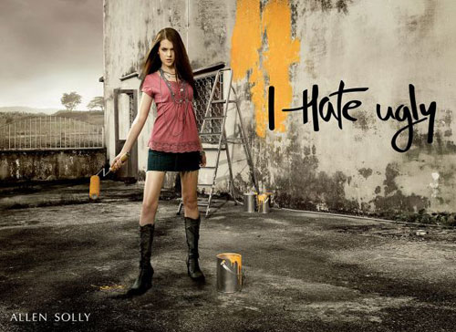 Print Advertisements From Clothing Companies