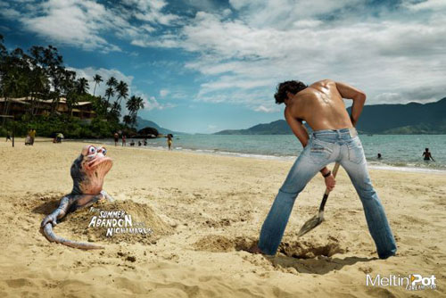 Print Advertisements From Clothing Companies 34