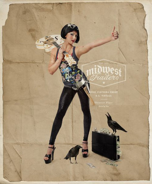 Print Advertisements From Clothing Companies 36