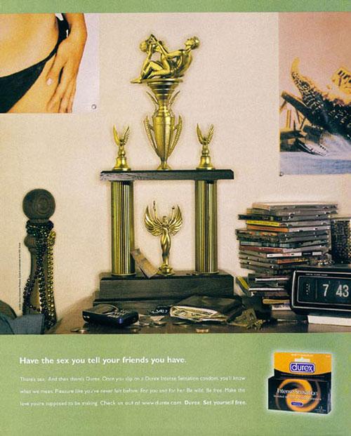 Durex Print Advertisement 26