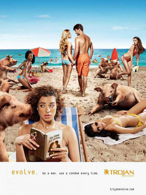 Trojan Print Advertisement 2