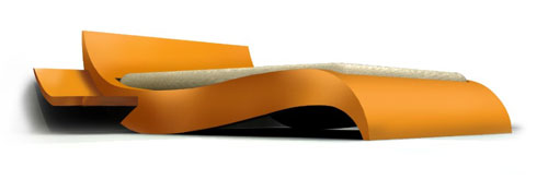 Curved bed - Cool Examples Of Innovative Furniture Design