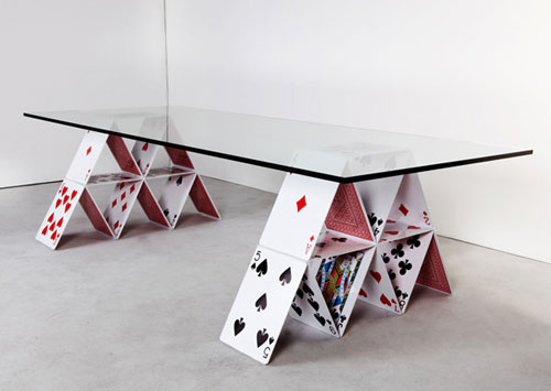 House of Card Table - Cool Examples Of Innovative Furniture Design