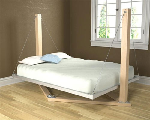 Housefish Suspended Bed - Cool Examples Of Innovative Furniture Design