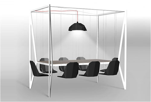Swing table - Cool Examples Of Innovative Furniture Design