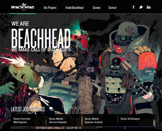 beachheadstudio.com site design