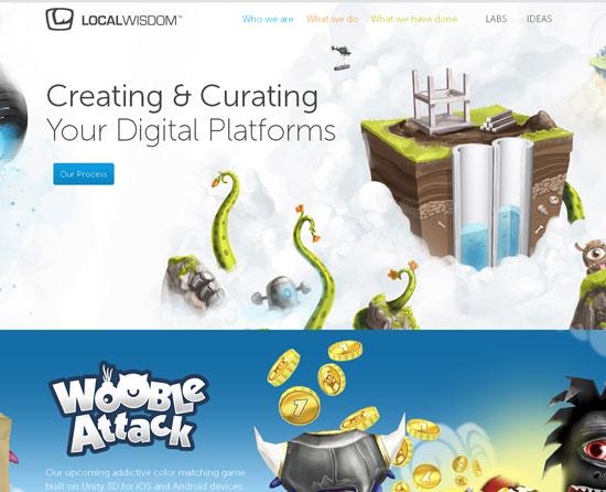 localwisdom.com site design
